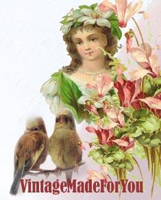 I Love Spring -VintageMadeForYou